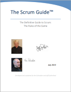 The Definite Guide to Scrum: The Rules of The Game